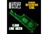 Green Stuff 500768 Mesureur Gaming Fluor Lime Green