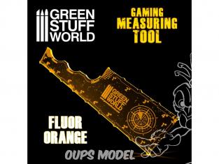 Green Stuff 500751 Mesureur Gaming Orange Fluor