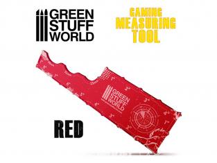 Green Stuff 500980 Mesureur Gaming Rouge