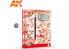 Ak Interactive livre Learning Series 13 AK522 Techniques de weathering au crayon Anglais