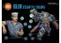 Ak interactive peinture acrylique 3G Set AK11618 Bleu : Couleurs essentielles 6 x 17ml