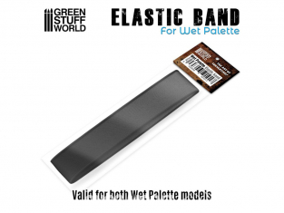 Green Stuff 501017 Bande Elastique pour Palette Humide