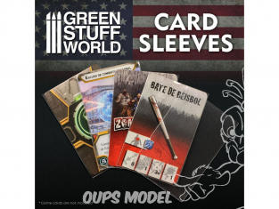 Green Stuff 508710 Pochettes de Cartes Mini Americain 41x64mm