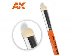 AK Interactive pinceau AK621 Pinceau de brossage à sec - Dry Brush