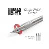 Green Stuff 509182 Couteau à Tête Pivotante en Métal