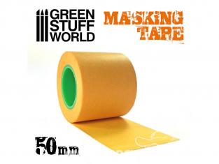Green Stuff 509649 Ruban de Masquage 50mm