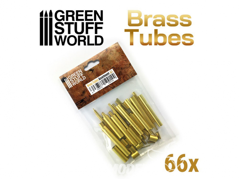 Green Stuff 509144 Assortiment de tubes en laiton