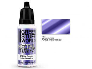 Green Stuff 509427 Filtres Métalliques Interférence mauve