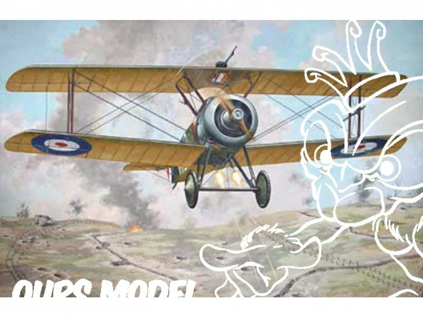 RODEN maquettes avion 052 Sopwith TF1 Camel 1/72