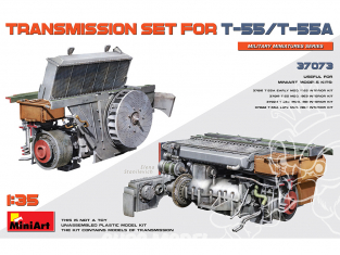Mini Art maquette militaire 37073 JEU DE TRANSMISSION POUR T-55/T-55A 1/35