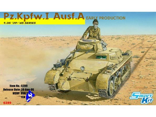 Dragon maquette militaire 6289 Pz.Kpfw.I Ausf.A 1/35