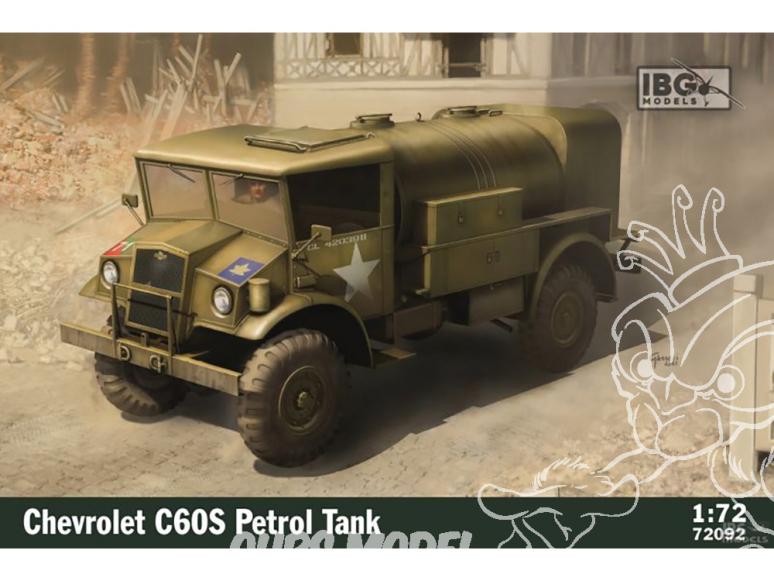 IBG maquette militaire 72092 Chevrolet C60S Citerne a carburant 1/72