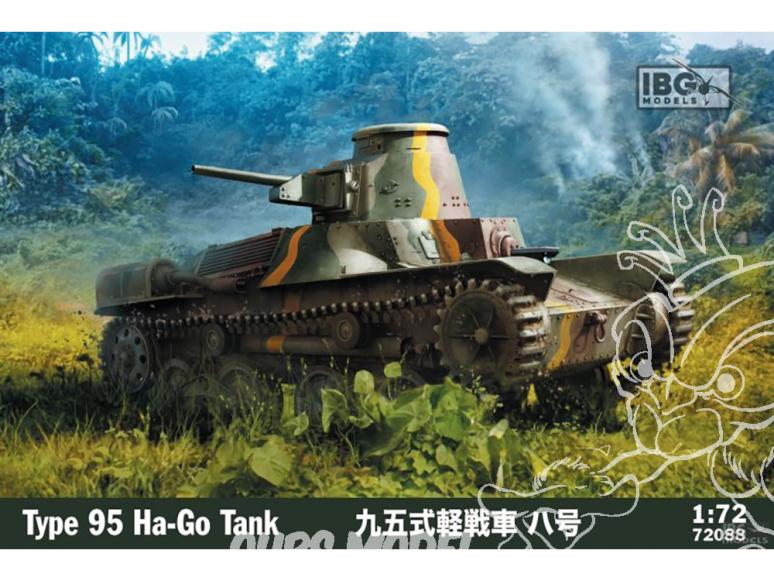 IBG maquette militaire 72088 Char Japonais Type 95 Ha-Go 1/72