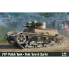 IBG maquette militaire 35071 Char polonais 7TP tourelle double early 1/35