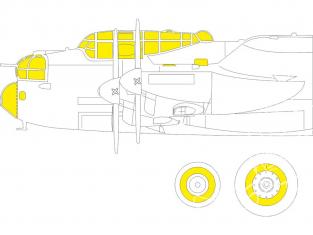 Eduard Express Mask EX792 Lancaster B Mk.I Hk Models 1/48