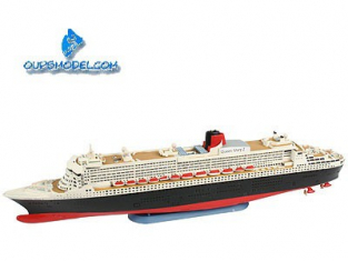 Revell maquette bateau 65808 Queen Mary 2 Model set 1/1200