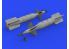 Eduard kit d'amelioration brassin 672268 CPU-123 Paveway II 1/72