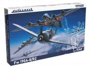 EDUARD maquette avion 84114 Focke Wulf Fw 190A-8/R2 WeekEnd Edition 1/48