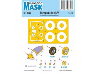 Special Hobby Masque avion M48006 Tempest Mk.II/V 1/48