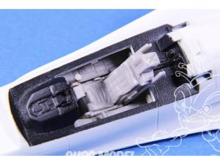 Cmk kit resine 7470 F-16MLU Cockpit pour kits Revell 1/72