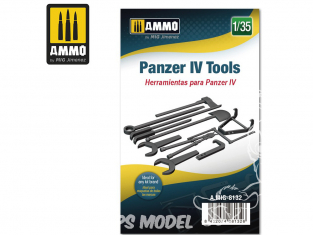 Ammo Mig accessoire 8132 Outils Panzer IV 1/35