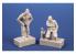 Cmk figurine F72372 Mécaniciens Allemand d'un He 162A 2 pièces 1/72