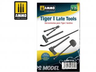 Ammo Mig accessoire 8135 Outils Tigre I Late 1/35