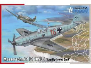 Special Hobby maquette avion 72454 Messerschmitt Bf 109E-1 Lightly-Armed Emil 1/72