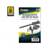 Ammo Mig accessoire 8148 Browning M1919 avec M20 AA Mount 1/35