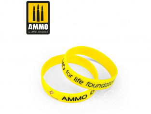 MIG 8058 Bracelet Ammo for life Foundation 190mm (Jaune)