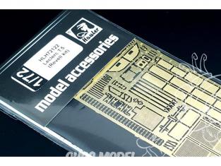 Hauler kit d'amelioration HLH72122 Leclerc T5 pour kit Revell 1/72