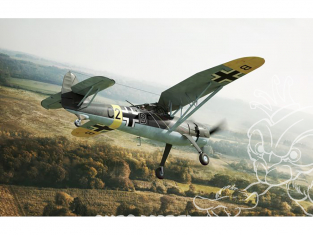Brengun maquette avion BRP72045 Hs 126 B-1 1/72