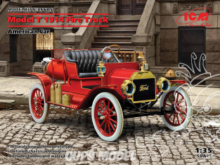 Icm maquette militaire 35605 Ford T 1914 Fire Truck 1/35