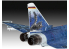Revell maquette avion 03843 Eurofighter Luftwaffe 2020 Quadriga 1/72
