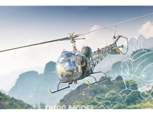 Italeri maquette helicoptere 2820 OH-13 Sioux 1/35