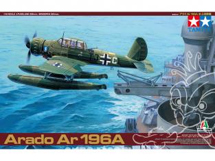 TAMIYA maquette avion 37006 Arado Ar. 196A 1/48