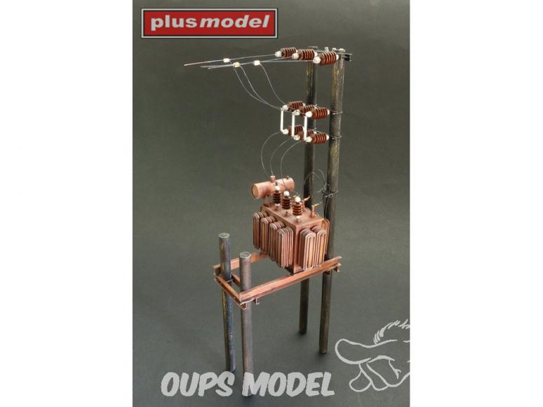 Plus Model Diorama 535 Transformateur Station 1/35