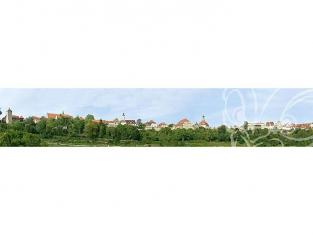 Faller 180509 Arrière-plan de modèle Petite ville