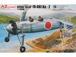 AZ Model Kit avion AZ4808 Kayaba O-GO Ka-2 autogiro 1/48