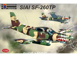 KP Model kit avion Kpm4814 SIAI Marchetti SF-260TP 1/48