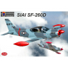 KP Model kit avion Kpm4815 SIAI Marchetti SF-260D 1/48