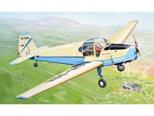 KP Model kit avion Kpm4810 Zlin Z-381 Basa 1/48