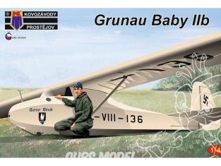 KP Model kit avion Kpm4813 Schneider Grunau Baby IIb 1/48