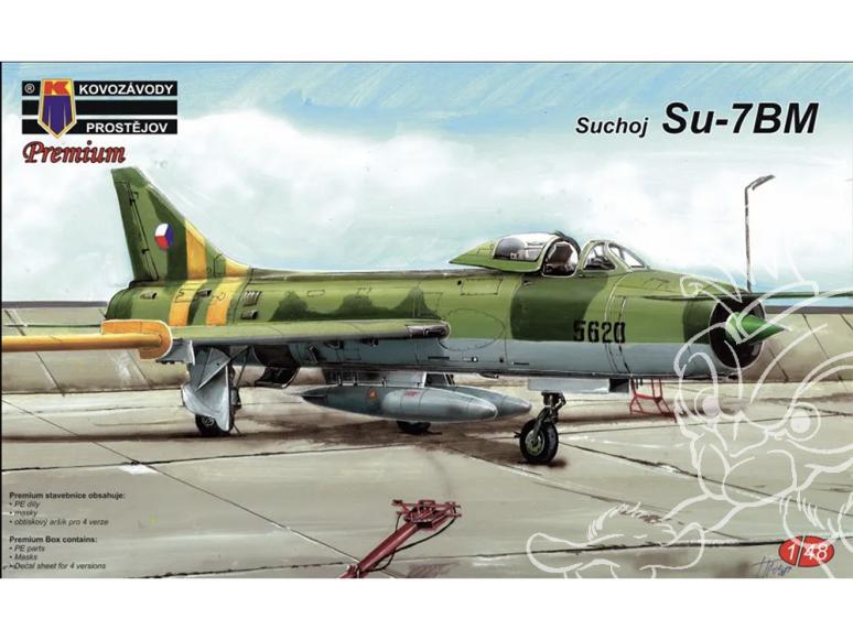 KP Model kit avion Kpm4803 Soukhoï Su-7BM 1/48