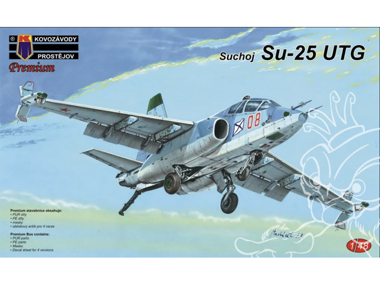 KP Model kit avion Kpm4801 Soukhoï Su-25UTG 1/48