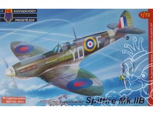 KP Model kit avion KPM0056 Supermarine Spitfire Spitfire Mk.IIb 1/72