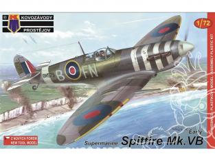 KP Model kit avion KPM0057 Supermarine Spitfire Mk.VB Early 1/72