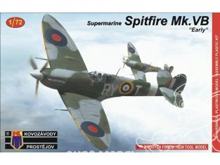 KP Model kit avion KPM0058 Supermarine Spitfire Mk.VB Early 1/72