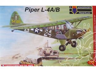 KP Model kit avion KPM0040 Piper L-4A/B General Patton 1/72