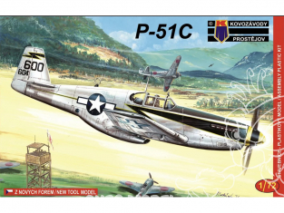 KP Model kit avion KPM0033 North American P-51C Mustang 1/72